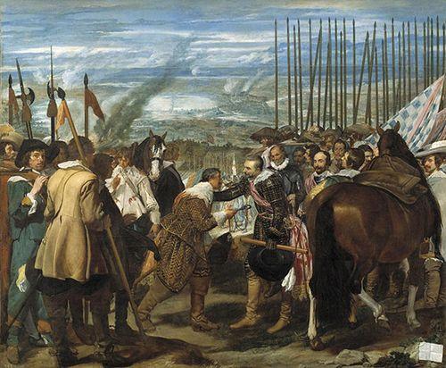 Las Lanzas, de Velázquez.