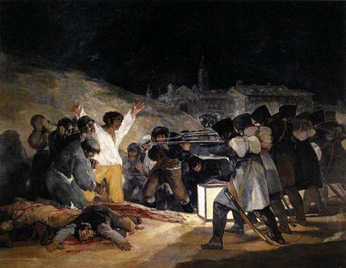 El 3 de Mayo, de Goya.