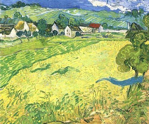 Les Vessenots en Auvers, de Van Gogh.