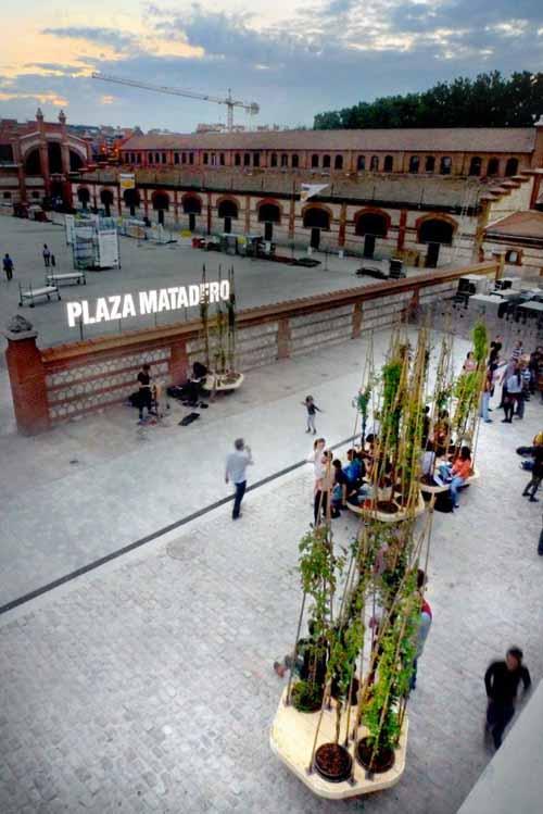 plaza matadero lugar zinc shower zincshower.com