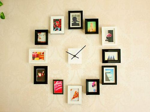 reloj diy fotos photojojo ideasdy.com