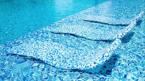 son vida hamacas en el agua piscina