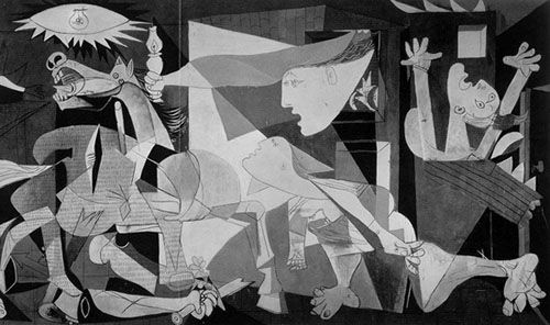 Guernica de Picasso.