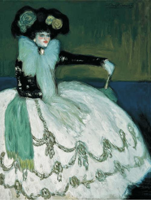 La Mujer en azul, de Picasso.