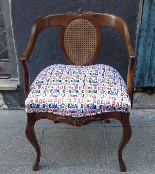 silla tapizada tienda delgallo facebook