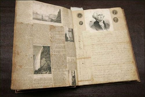 scrapbook thomas jefferson