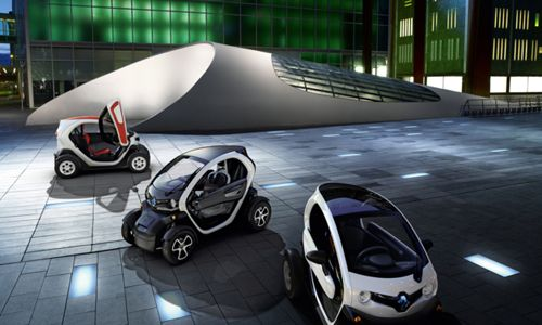 coche pequeño twizy  renault red dot