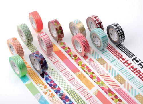 Decoración con Washi Tape, una tendencia en alza