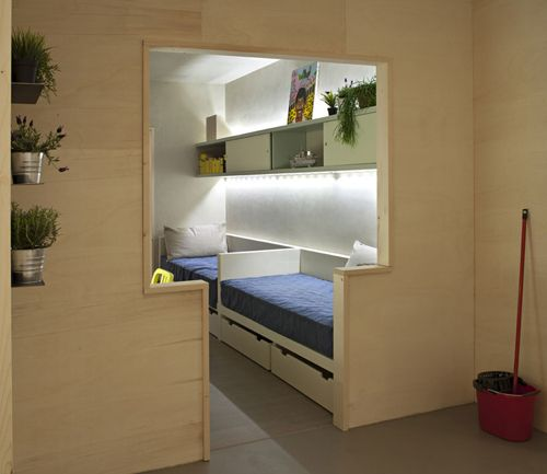 Freedom room, una vivienda low cost