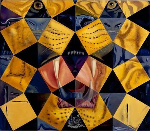 cinco pinturas abstractas salvador dali tematicasx.blogspot.com