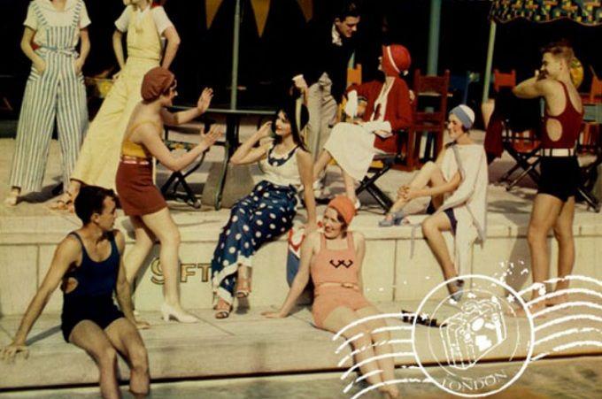 mujeres bañador años 20