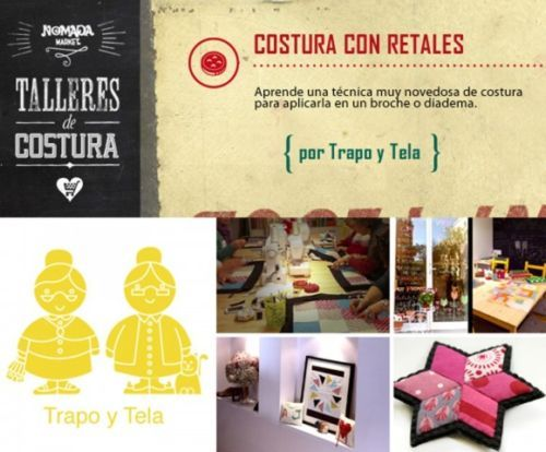 back to school taller costura trapo y tela