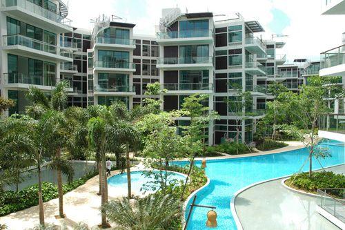 belle vue residences singapur toyo ito