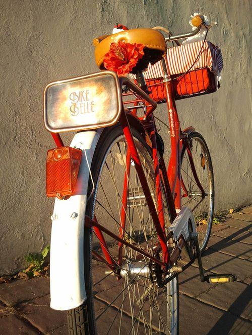 fotografia bicicleta estilo vintage