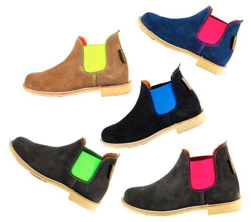 botines moda neon trendencias.com