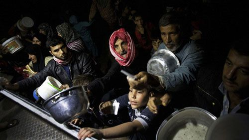 desplazados sirios manu brabo