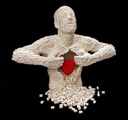 escultura lego nathan sawaya delezta.com