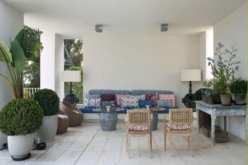mallorca terraza sofa
