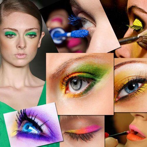 maquillaje moda colores fluor cursobelleza.net