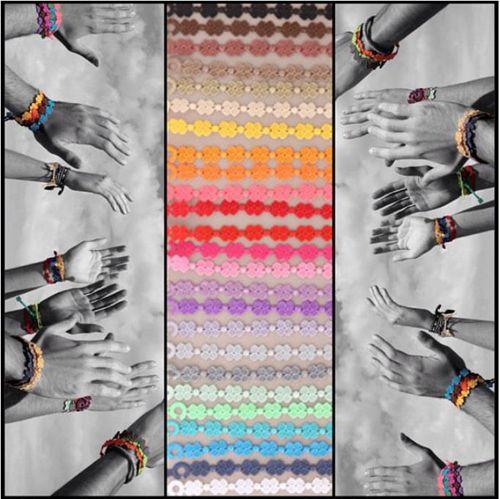 publicidad pulseras cruciani colores facebook