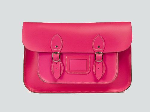bolso satchel bag tono fluor color fucsia satchelbag.es