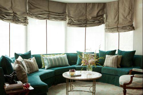 somosaguas madrid sofa semicircular ventanales