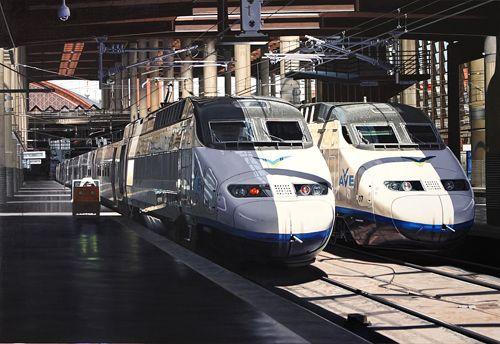 trenes alstom serie 100 estacion puerta atocha jose miguel palacio