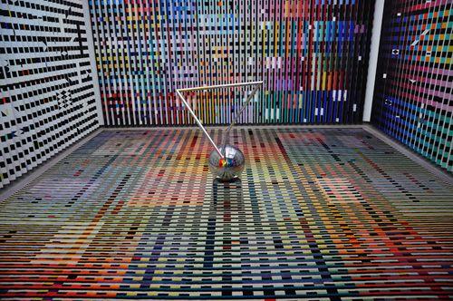 obra arte moderno expuesta interior centro pompidou paris.es