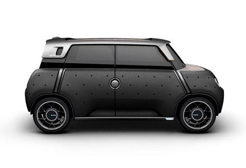 mewe negro coche toyota perfil
