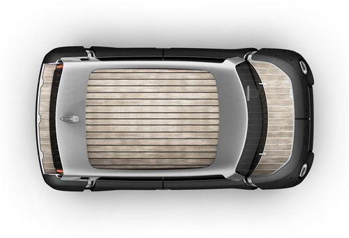 mewe coche toyota vista superior techo bambu