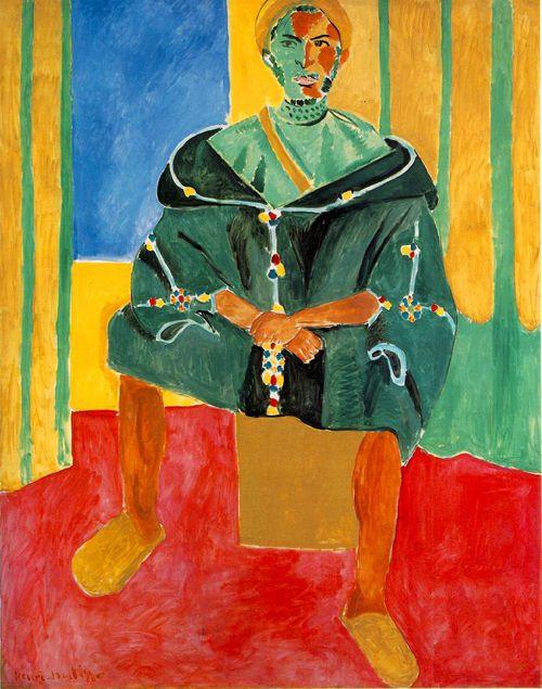 riffian obra fauvista henri matisse hartismo.blogspot.com.es