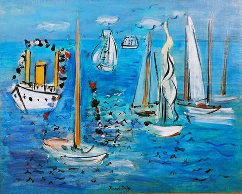 obra fauvista raoulf dufy swingalia.com