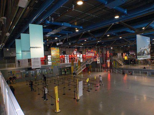 vista general sala interior centro pompidou foroxerbar.com
