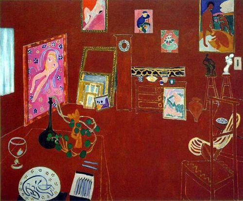 taller rojo obra fauvista henri matisse lifeartegroup.wordpress.com
