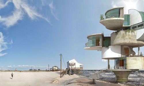 Dionisio González recrea proyectos de Le Corbusier