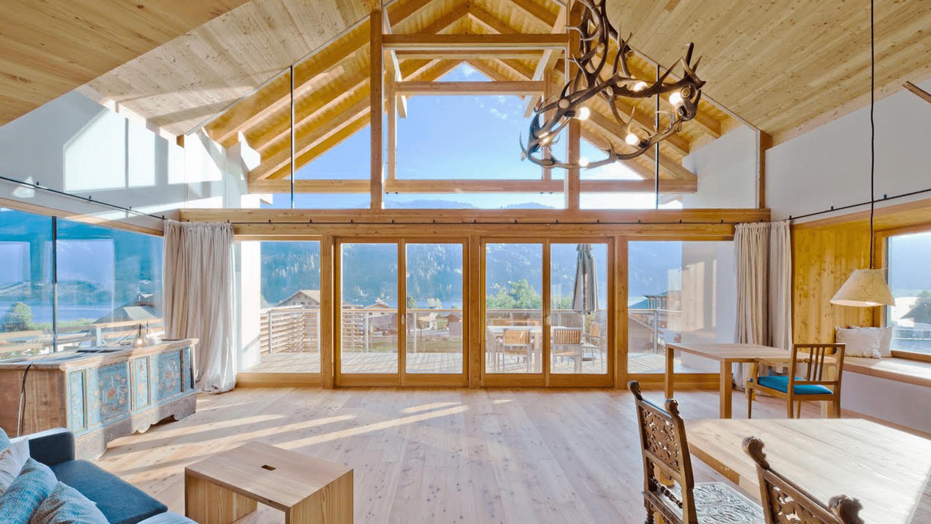 Casa de Baños en Carinthia diseño de Peter Jungmann