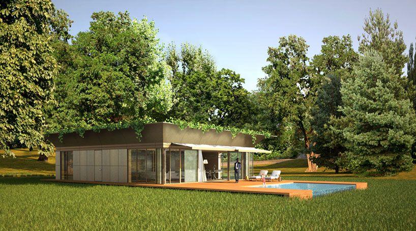 casa modular jardin