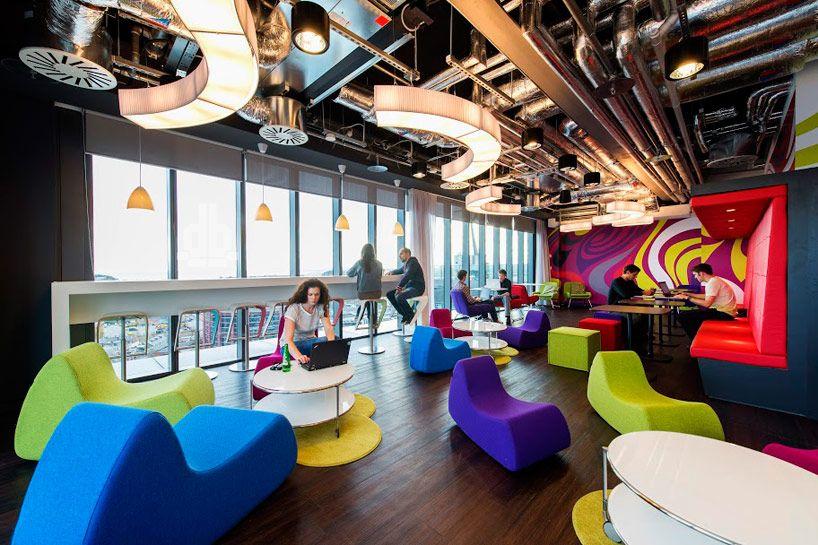 Nuevo diseño en las oficinas Google de Dublín