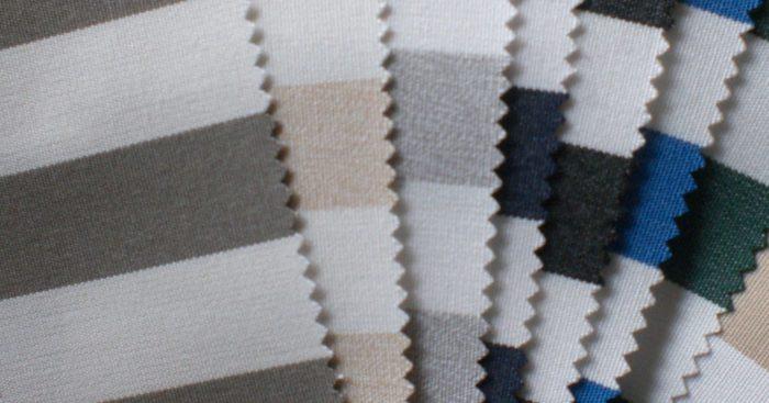 decoración navy patrones tela rayas marinas