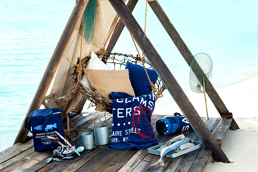 decoración navy tipy nautico