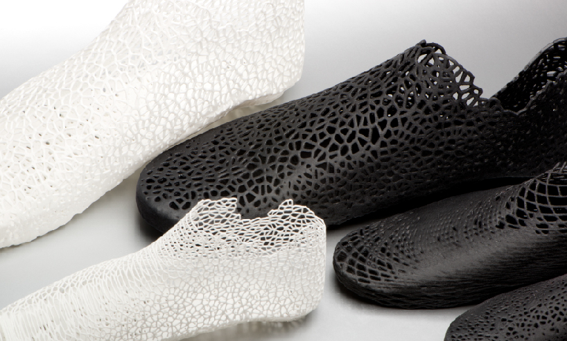 zapatos creados impresora 3D