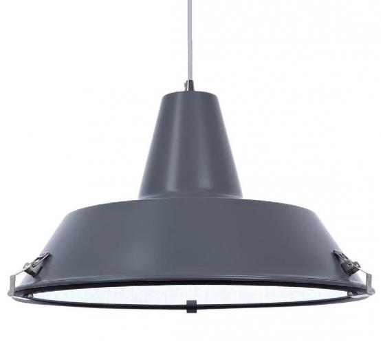 lampara industrial gris para la cocina
