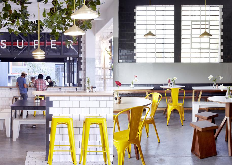 Superette, un café de diseño diferente en Ciudad del Cabo