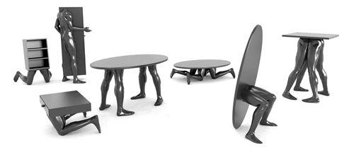 human-furniture dzmitri samal diseño