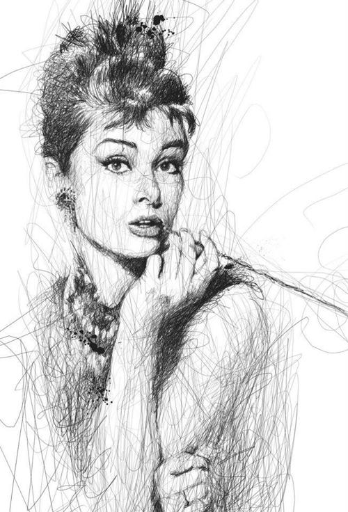Audrey por Vince Low