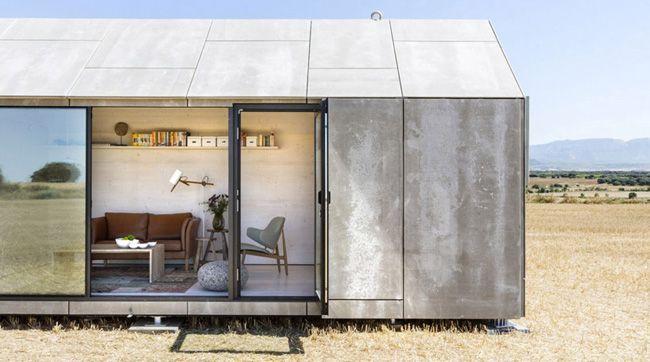 Casas prefabricadas portátiles sostenibles