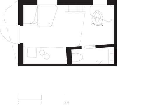 Diseño del apartamento para estudiantes