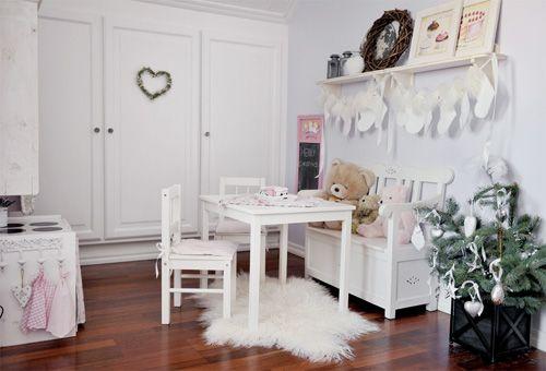 Habitación con toques navideños. 2