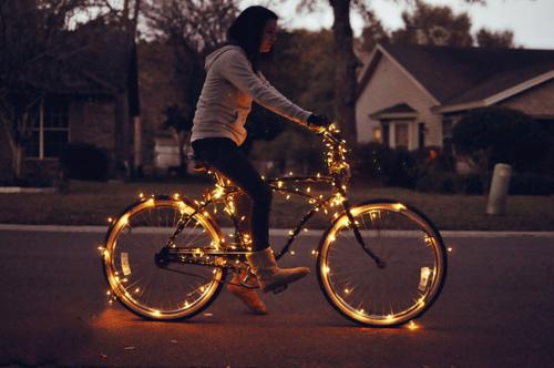Bici navideña