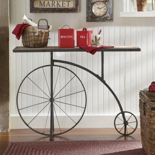 Bicicleta vintage decorativa